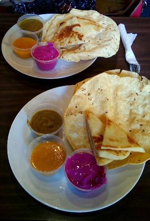 Southampton, Canadá: Evening Indian dinner