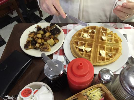 South Dennis, MA: Waffles and HomeFires