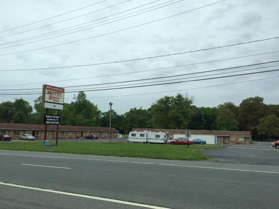 Newcastle, DE: Delaware auto court motel & trailer park new castle