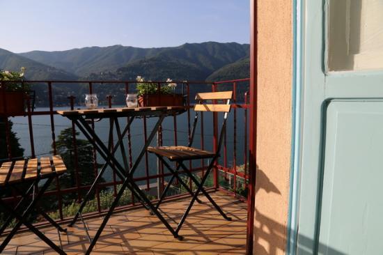 Laglio, Italia: doubleroom lake view terrace