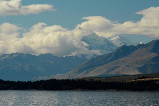 Canterbury Region, Nueva Zelanda: Brooding Mount Cook