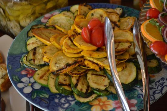 Tucker's Town, Bermuda: grilled veg