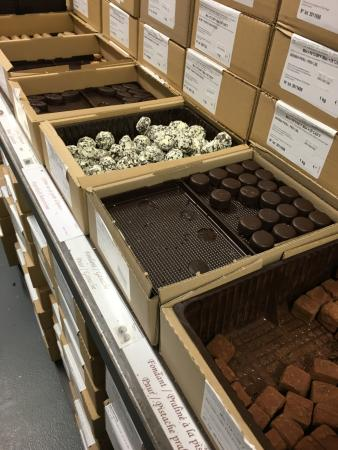 Vlezenbeek, Bélgica: Chocolates em caixas de 1kg