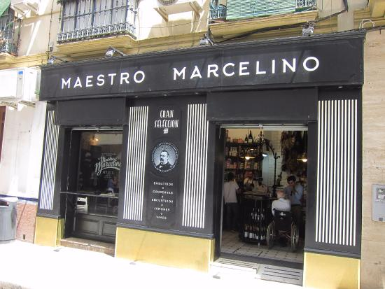 imagen Maestro Marcelino en Sevilla
