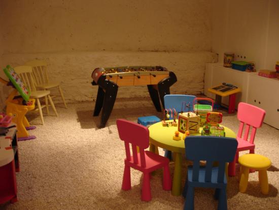 Sainte-Livrade-sur-Lot, ฝรั่งเศส: Indoor play room