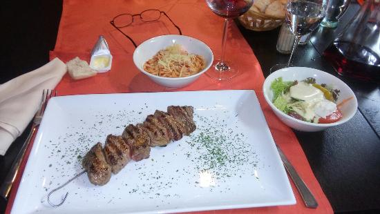 La table du grec photo de la table du grec jurbise tripadvisor - Restaurant la table du grec ...