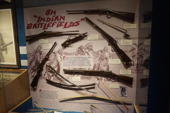Golden, CO: Weapons used on Indian Battlefields