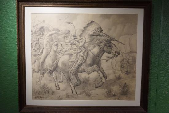 Golden, CO: Drawing of battle
