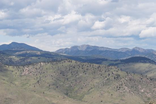 Golden, CO: Part of the panorama of Rocky Mountains surrounding Museum and Burial Site of Buffalo Bill