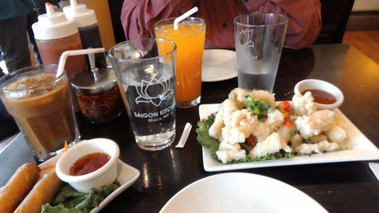 Saigon Kitchen: Calamari, appetizer portion