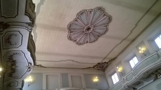Palazzo Clerici: soffitto della sala da ballo
