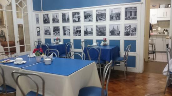 Hotel Baleares: Sala de café