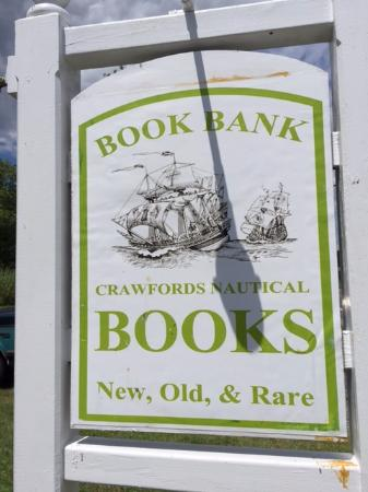 Tilghman, MD: The Book Bank, AKA Crawford's Nautical Books