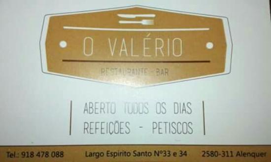 Alenquer, Portugal: O Valerio