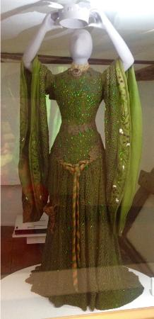 Tenterden, UK: The gown worn by Dame Ellen Terry when she played Lady Macbeth