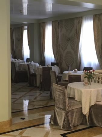 Hotel Carlton Capri: The breakfast lounge.