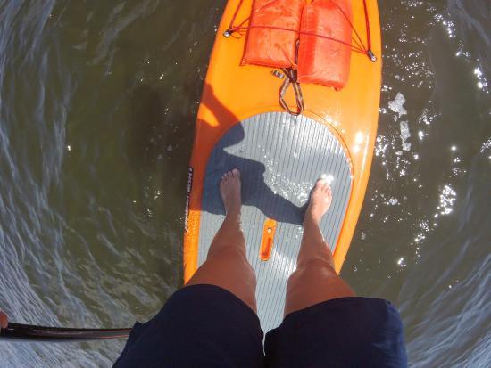 เจนเซน บีช, ฟลอริด้า: boards need update! flooding easily ....