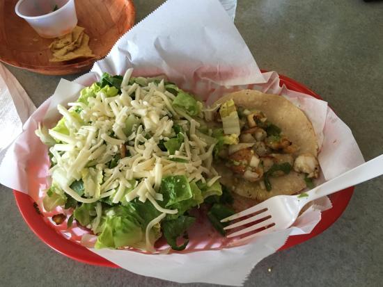 Taqueria San Bruno: Fish & Veggie taco