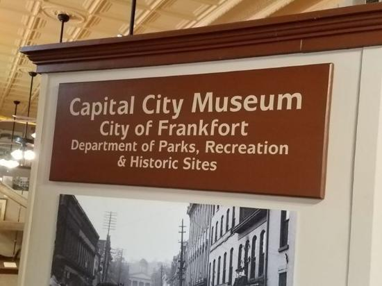 Frankfort, KY: Free museum