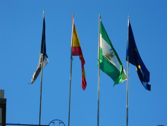 Banderas En La Terraza Picture Of Universidad De Malaga