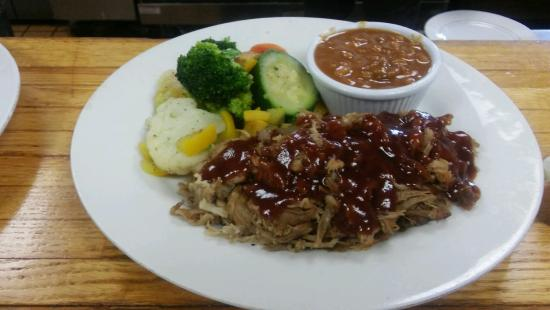 Front Royal, VA: Pulled BBQ Pork