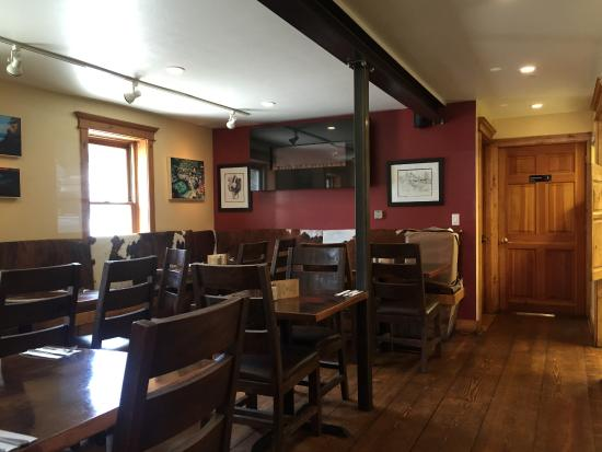 1882 Bar And Grill Inside Dining Area