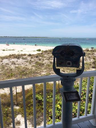 Boca Grande, FL: view from the lighthouse museum porch