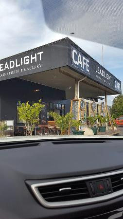 Ohaupo, New Zealand: Leadlight Glass Studio & Gallery Cafe