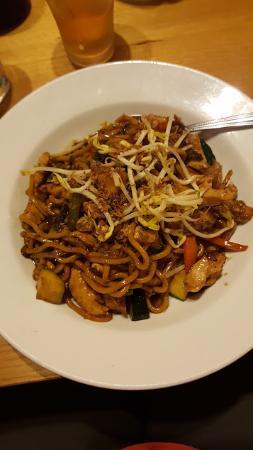 Wantirna, Avustralya: hookkien noodle stir fry