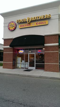 Store front of Four Brothers in Glen Allen (Route 1 at VCC)