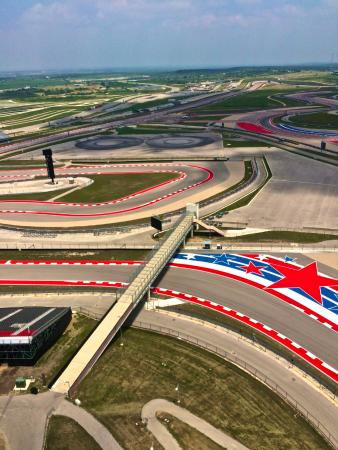 The Track From The Cota Tower Picture Of Circuit Of