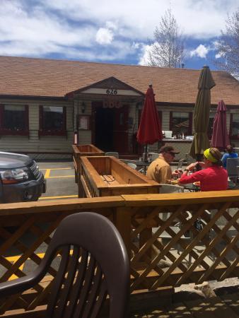 Dillon, Колорадо: outside terrace
