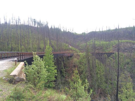 Okanagan Falls, Canada: Kettle Valley Railway Trail