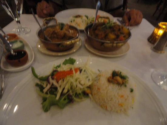 Bethesda, MD: Goat curry and lamb stew