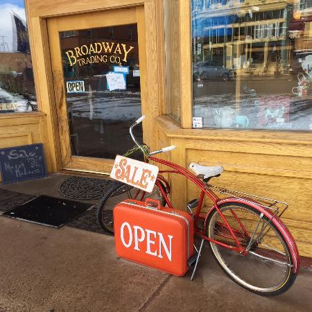 Philipsburg, MT: Browse the Broadway Trading Company while we make your Breakfast, Lunch, or coffee.