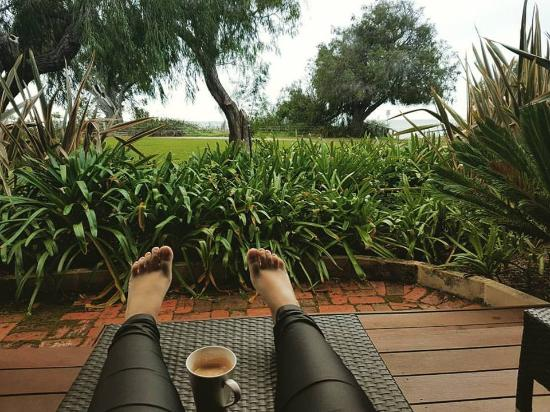 Dunsborough, Australia: Enjoying a beautiful rainy morning