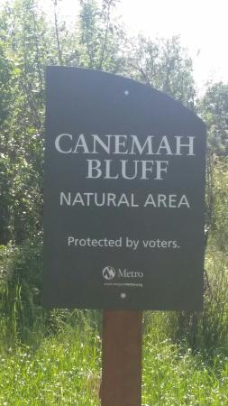 Oregon City, OR: Canemah Bluff Natural Area
