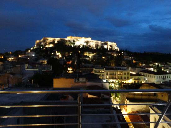 Terraza Fotografía De Plaka Hotel Atenas Tripadvisor