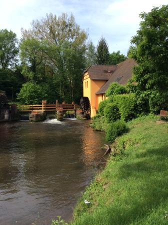 Moulin de la Walk: Direkt an der Lauter