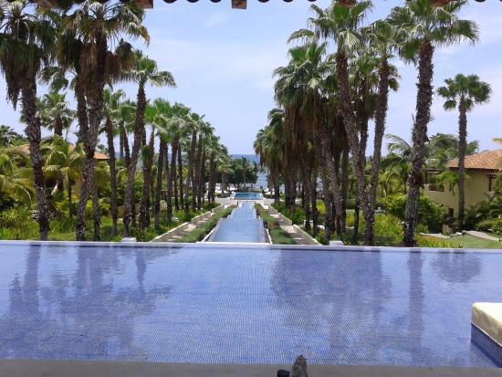 The St. Regis Punta Mita Resort: Vista desde el Lobby
