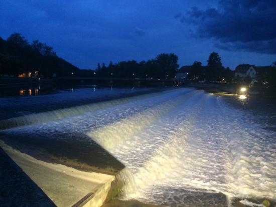 Landsberg am Lech, Alemania: Işıklandırma çok güzel olmuş.