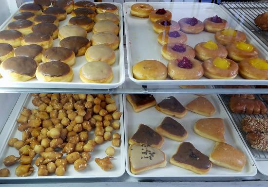 Roseburg, Oregón: Creme-filled, jelly-filled and doughnut holes