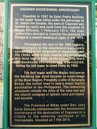 Postcard-like  - Picture of Cagsawa Ruins Park, Legazpi - TripAdvisor