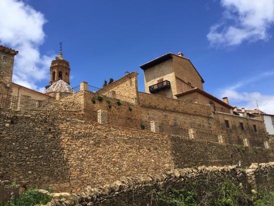 La Iglesuela del Cid, Spain: Arquitectura de piedra seca
