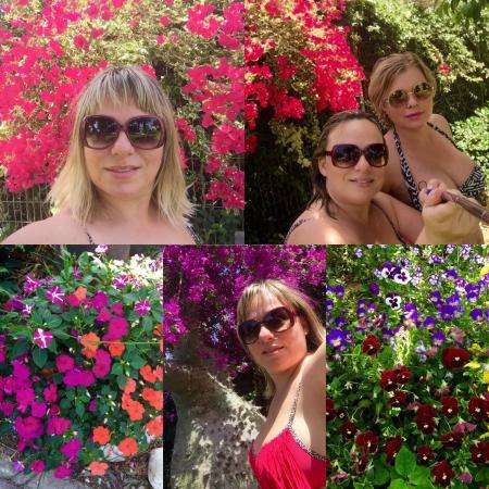 Netanya, Israël: Краски просто поражают воображение ! Имейте удовольствие и наслаждайтесь водными процедурами и к