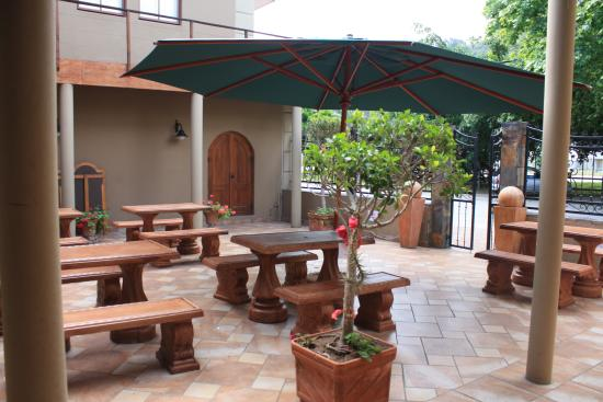 Sedgefield, Sudáfrica: Outdoor Seating