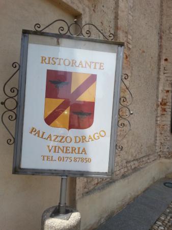 Palazzo Drago Ristorante Vineria: Insegna