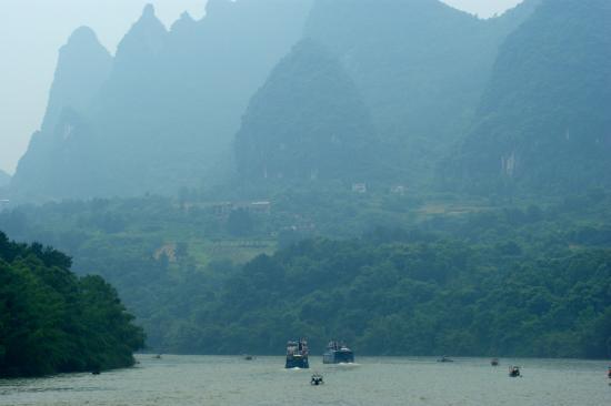 Guangxi, Chiny: li river cruise