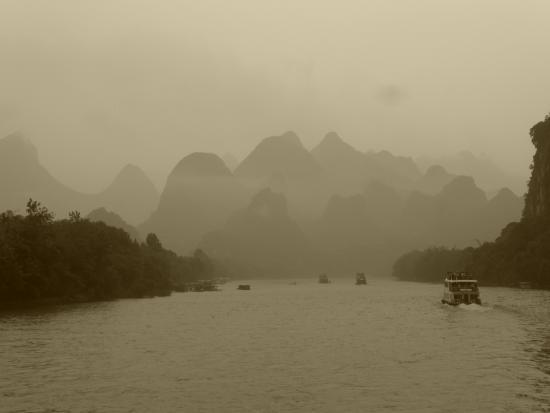 Guangxi, China: li river cruise