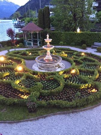 Grand Hotel Zell am See: One of the gardens